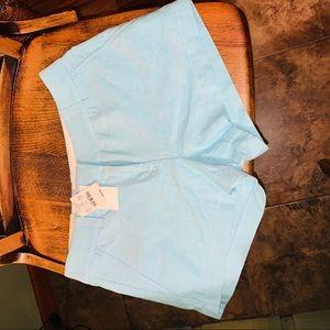 JCrew City fit oxford shorts